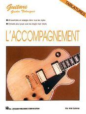 Guitare ; l'accompagnement - Couverture - Format classique