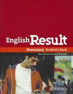 Vente  English result elementary: student's book with dvd pack  - Xxx