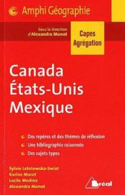 Vente  Canada etats-unis mexique capes agreg  - Monot