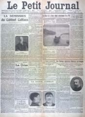 Petit Journal (Le) N°17913 du 12/01/1912 - Couverture - Format classique