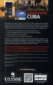 Comprendre Cuba (2e édition) - 4ème de couverture - Format classique