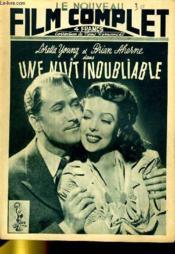 Le Nouveau Film Complet N° 30 - Une Nuit Inoubliable - Couverture - Format classique