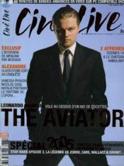 CINE LIVE - N° 86 - The aviator - Couverture - Format classique