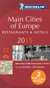 Main cities of europe 2015  - Collectif Michelin