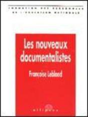 Les Nouveaux Documentalistes - Couverture - Format classique