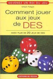 Jeux De Des - Intérieur - Format classique