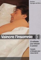 Vaincre l'insomnie - Couverture - Format classique