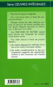 Les rêveries du promeneur solitaire, de Jean-Jacques Rousseau - 4ème de couverture - Format classique