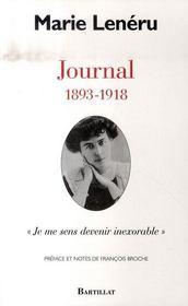 Journal ; 1893-1918, je me sens devenir inexorable - Intérieur - Format classique