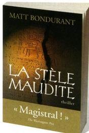 La stèle maudite - Intérieur - Format classique