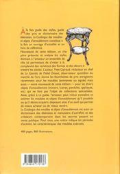 Guidargus meubles objets ameublement - 4ème de couverture - Format classique