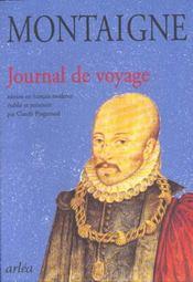 Journal de voyage - Intérieur - Format classique