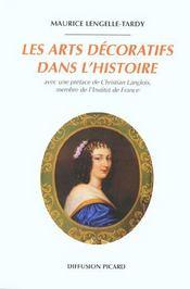 Les arts decoratifs dans l'histoire - Intérieur - Format classique