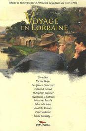Voyage en Lorraine - Intérieur - Format classique
