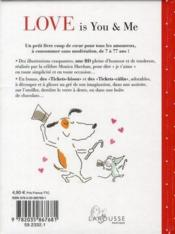 Vente livre :  Love is you and me  - Collectif