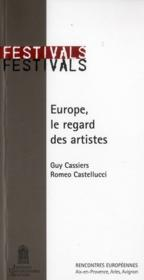Europe, le regard des artistes / europe: the artists' view - Couverture - Format classique