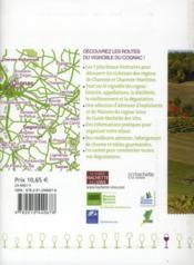 Sur la route du vignoble du Cognac - 4ème de couverture - Format classique