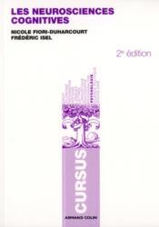 Les neurosciences cognitives (2e édition) - Couverture - Format classique
