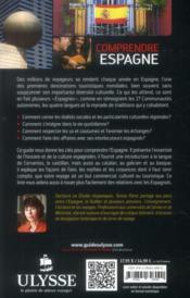 Comprendre l'Espagne - 4ème de couverture - Format classique