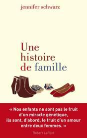 Une histoire de famille - Couverture - Format classique