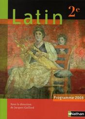 Vente  Latin ; 2nde (édition 2008)  - Collectif