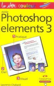 Photoshop elements 3 et album - Intérieur - Format classique