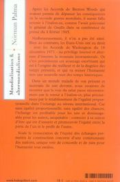 Mondialisation Et Altermondialisme - 4ème de couverture - Format classique