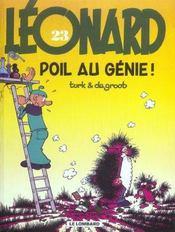 Léonard t.23 ; poil au génie - Intérieur - Format classique