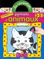 Portraits d'animaux ; 3/5 ans - Intérieur - Format classique