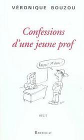 Confessions d'une jeune prof - Intérieur - Format classique