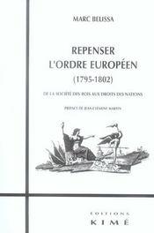 Repenser l'ordre europeen (1795-1802) - Intérieur - Format classique