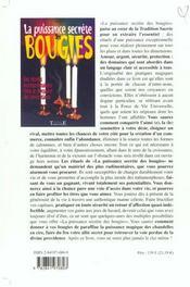 La puissance secrète des bougies ; des rituels incontournables dans le domaine des invocations - 4ème de couverture - Format classique