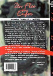 Flic En Enfer - 4ème de couverture - Format classique