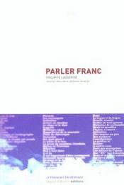 Parler franc - Intérieur - Format classique