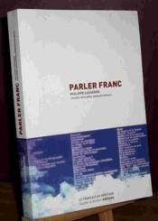 Parler franc - Couverture - Format classique