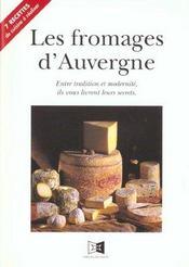 Les fromages d'auvergne - Intérieur - Format classique