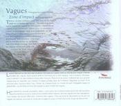 Vagues ; zone d'impact - 4ème de couverture - Format classique