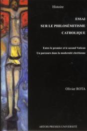Essai sur le philosémitisme entre le premier et le second concile de Vatican - Couverture - Format classique