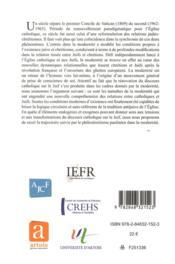 Essai sur le philosémitisme entre le premier et le second concile de Vatican - 4ème de couverture - Format classique