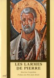 Les Larmes De Pierre. Preface B Bobrinskoy - Couverture - Format classique