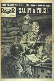 Radar N°275 du 16/05/1954 - Couverture - Format classique