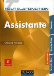 Toute la fonction assistante (2e édition) - Couverture - Format classique