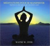 Meditations Pour Se Manifester - Livre Audio - Couverture - Format classique