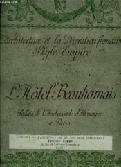 2 Tomes. L Architecture Et La Decoration Francaises Style Empire. Incomplet. - Couverture - Format classique