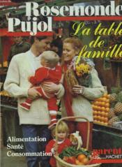 La Table De Famille. Alimentation, Sante, Consommation - Couverture - Format classique