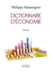 Dictionnaire d'économie - Couverture - Format classique