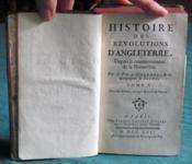 Histoire des Revolutions d'Angleterre, depuis le commencement de la Monarchie. Tome 1. – Orleans (Pere D') – ACHETER OCCASION