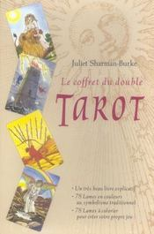 Vente livre :  Le coffret du double tarot  - Juliet Sharman-Burke