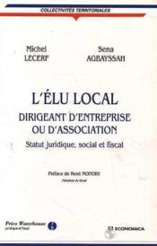 Vente livre :  L'Elu Local  - Lecerf