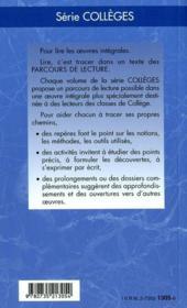 L'odyssée, d'Homère - 4ème de couverture - Format classique